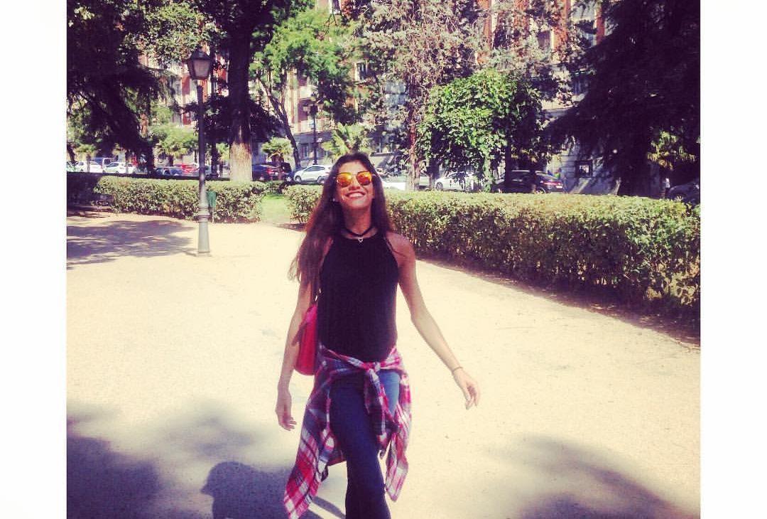 Mi primer día en Madrid